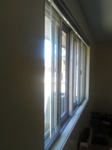 Even with the bit of chill it is still nice enough to open the windows and let in some fresh air.